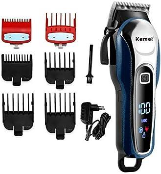 Barbero Barbero Barbero máquina de Afeitar eléctrica sin Cuerda del Pelo clippersBarber Peluquero de los Hombres Profesionales ANGANG
