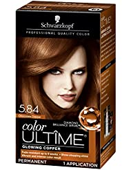 Schwarzkopf Color Ultime Hair Color Cream, 5.84 Chocolate...