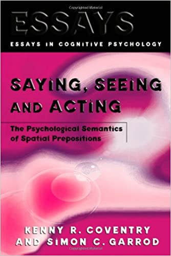 Topics For Argumentative Essays For High School Amazoncom Saying Seeing And Acting The Psychological Semantics Of  Spatial Prepositions Essays In Cognitive Psychology   Kenny R  Health Care Reform Essay also Thesis For An Essay Amazoncom Saying Seeing And Acting The Psychological Semantics  Cheap Essay Papers