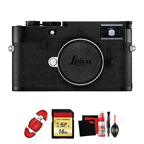 Leica M10-D Digital Rangefinder Camera with Memory Card and Cleaning Kit - Leica Digital Rangefinder