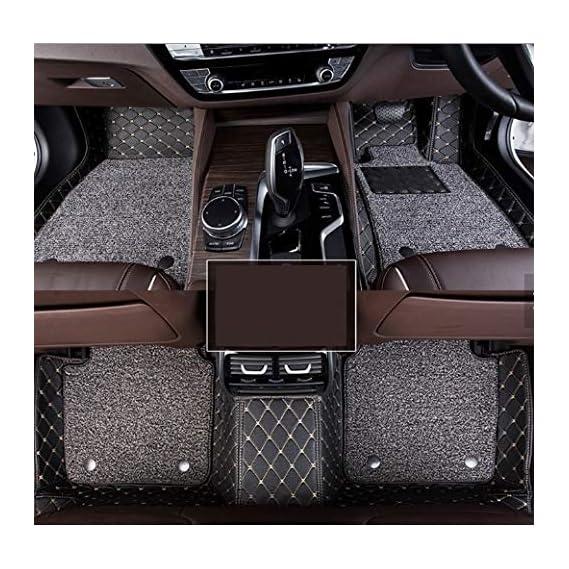 Hi Art 7D Car Mats Compatible with Maruti Suzuki SX4, Black