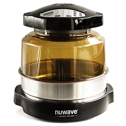NuWave Oven Pro Plus with Stainless Steel Extender Ring by NuWave