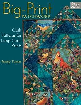 Big Print Patchwork Patterns Large Scale Prints ebook product image