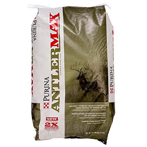 Purina Animal Nutrition AntlerMax Deer 20 with Climate Guard (Best Protein For Deer)