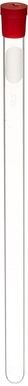 Kimble 897335-0000 Borosilicate Glass NMR Tube with Cap, 0.394' Diameter, 360MHz Frequency