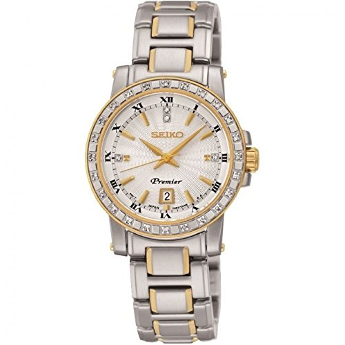 Seiko Reloj Analógico para Mujer de Cuarzo con Correa en Acero Inoxidable SXDG58P1: Amazon.es: Relojes