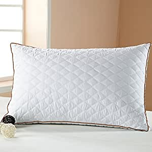 Amazoncom beegod bed pillow better sleeping super soft for Best soft bed pillows