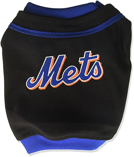 MLB New York Mets Baseball Dog Jersey, XX-Small