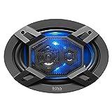 BOSS Audio ''Elite'' Series Car Speakers, Model B69LED | 500 Watt 6'' x 9'' Full Range