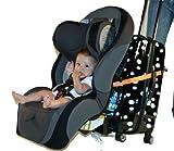 : Go-Go Babyz Travelmate Car Seat Luggage Strap, Orange, One Size