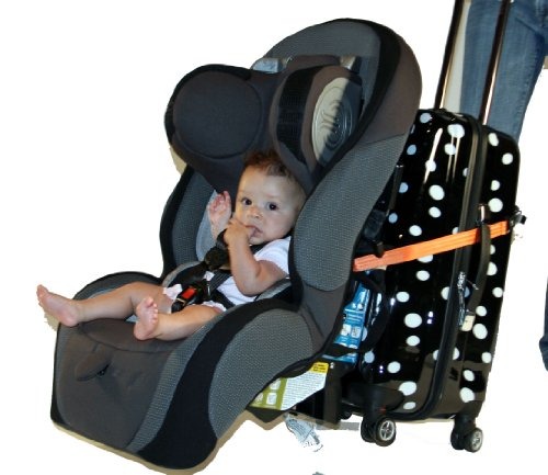 Go-Go Babyz Travelmate Car Seat Luggage Strap, Orange, One Size