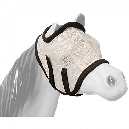 MINI Miniature Horse Pony Black Fly Bug Dust UV-Ray Mesh Fleece MASK Velcros (Miniature Horse Pony)