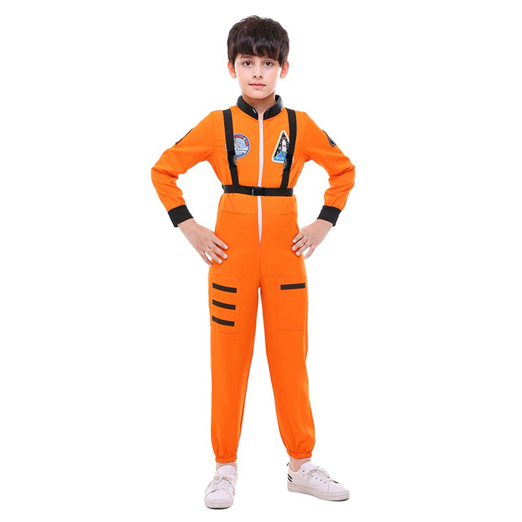 Amazon.com: MagiDeal Astronaut Jumpsuit Costume, Role Play ...
