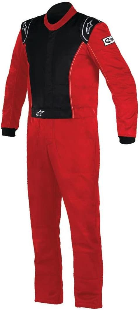 Red//Black, Size 44 Alpinestars KNOXVILLE Suit