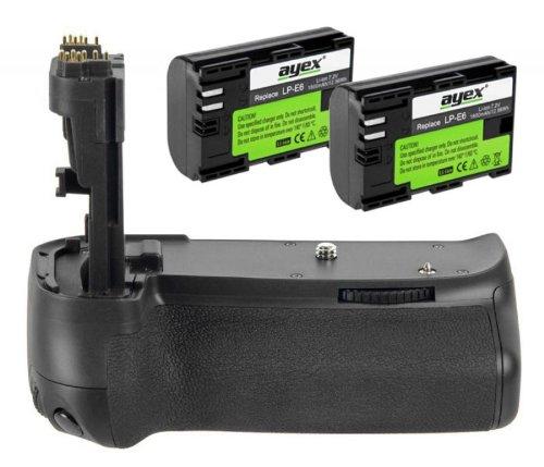 Batteriegriff 70d für Canon EOS 70D inkl. 2x Akkus Batteriegriff 70d für Canon EOS 70D inkl. 2x Akkus