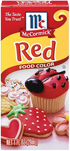 Amazon Com Mccormick Red Food Color Grocery Gourmet Food