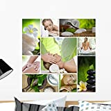 Wallmonkeys Spa Mix Wall Decal Peel and Stick Graphic WM1755 (24 in H x 24 in W)