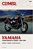 Yamaha YX600 Radian and FZ600, 1986-1990, Clymer Publications Staff, 0892875771