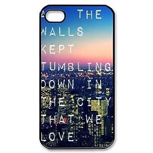 YUAHS(TM) Custom Phone Case for Iphone 4,4S with Bastille YAS333623