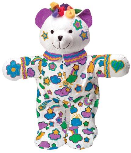 Color and Cuddle Washable Kit - Bear 1 pcs sku# 663995MA