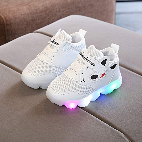 SMTSMT-SHOES Toddler Baby Girs Led Light Shoes Boys Soft Luminous Outdoor Sport Shoes