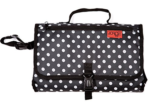 Diaper Changing Pad: Portable all in one Classic Clutch Design for Home and Travel.