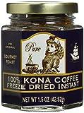 kona coffee instant - 100% Hawaiian Kona Coffee Freeze Dried Instant