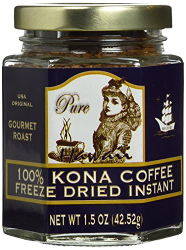 100% Hawaiian Kona Coffee Freeze Dried Instant