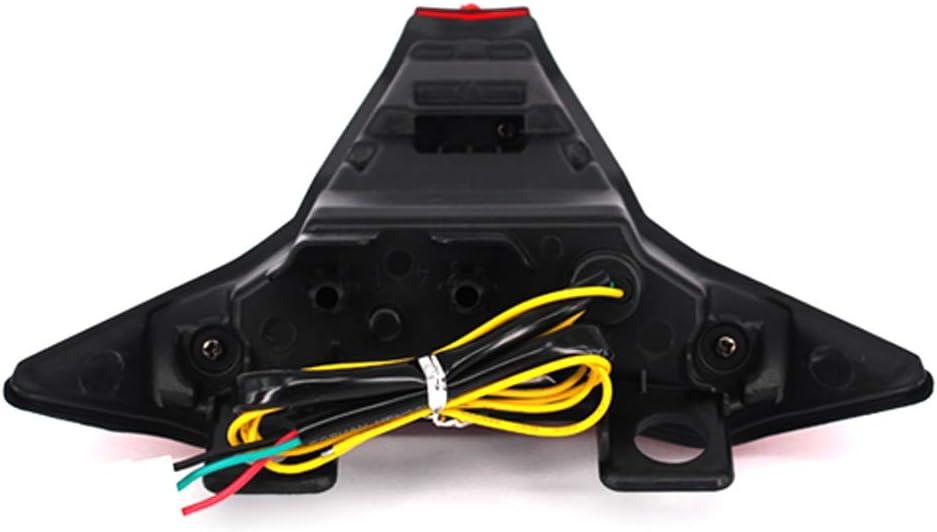 GUAIMI Integrated LED Tail Light Turn Signals Blinker for Kawasaki Z1000 2014-2019 Z400 2019-2020 Ninja ZX-10R 2016-2020 Ninja ZX-10RR 2017-2020 Ninja ZX-6R 2019-2020-Black
