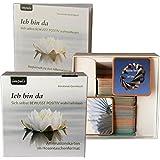 Ich bin da. Affirmationskarten im Hosentaschenformat. Geschenkbox (80 Affirmationskarten + Begleitbuch)