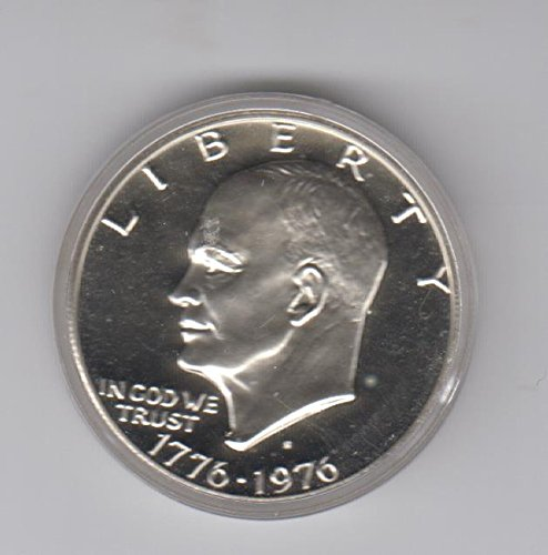 1776 S 1976 Proof Eisnehower Ike Dollar 40% Silver Coin 1776-1976 Bicentenial Year $1 Choice Proof US Mint