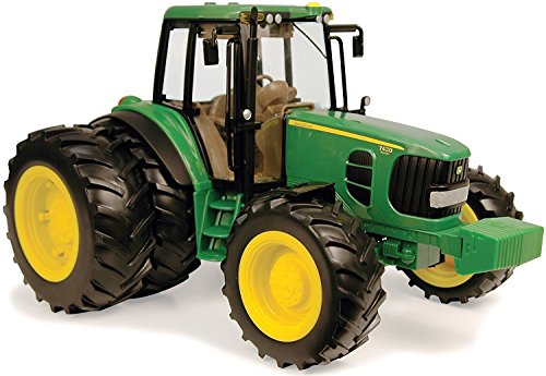 John Deere Big Farm 7430 Tractor Toy with Duals Lights an...