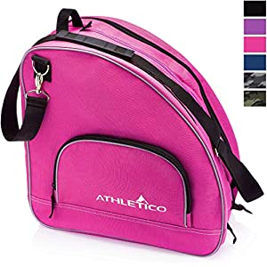 Athletico Ice & Inline Skate Bag – Premium Bag to Carry Ice Skates, Roller Skates, Inline Skates for Both Kids and Adults
