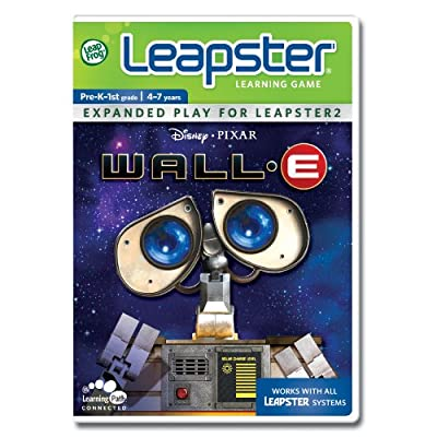 LeapFrog Leapster Learning Game Wall-E: Toys & Games