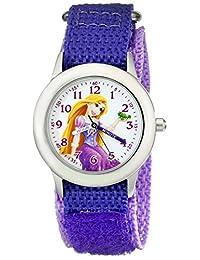 Disney Kids 'w001922Rapunzel analógico de cuarzo morado reloj