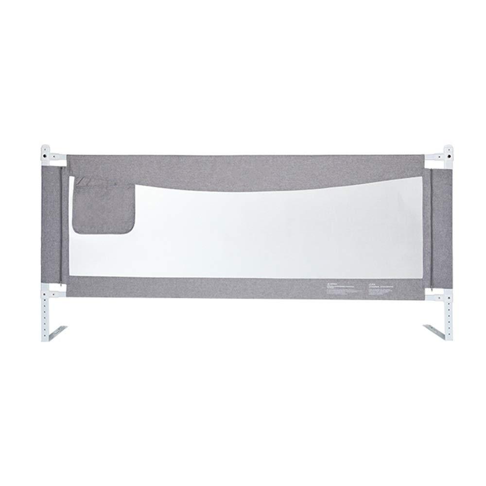 LHA ベッドガードフェンス 子供用ベッドガードレールベビーフェンス飛散防止ベッドサイドベゼルフェンスユニバーサル(150cm、180cm、200cm) (サイズ さいず : L-150cm) L-150cm  B07Q6V4VNH