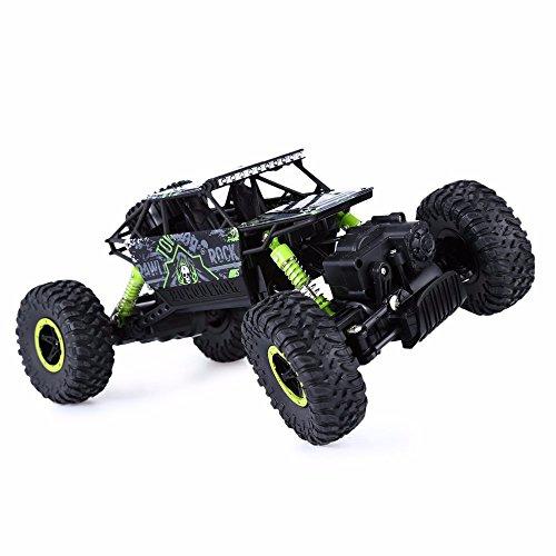 Pinjeer Hot RC Car 4WD 2.4G 4WD 4x4 conducción Rock Crawlers Coche Doble Motors Drive Bigfoot Cars Modelo de Control Remoto...