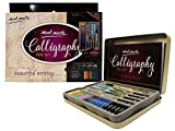 Office Products : Mont Marte Calligraphy Set, 33 Piece. Includes Calligraphy Pens, Calligraphy Nibs, Ink Cartridges, Introduction Booklet and Exercise Booklet.