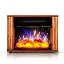 GUO@ Household Energy - Saving Heaters European - Style Electric Fireplace Creative Simulation Flame Heater Space Heaters