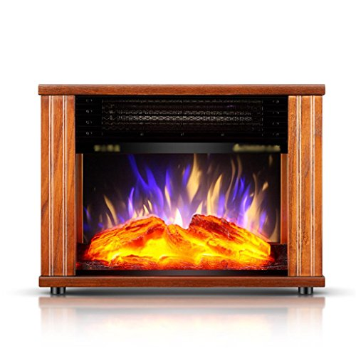 Cheap GUO@ Household Energy - Saving Heaters European - Style Electric Fireplace Creative Simulation Flame Heater Space Heaters Black Friday & Cyber Monday 2019