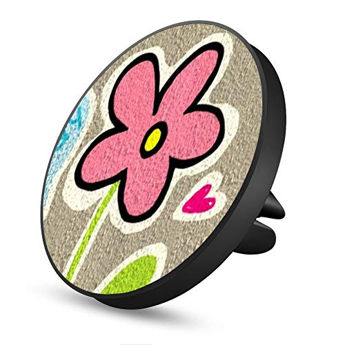 Happy Flower Magnetic Mount, Air Vent Magnetic Car Mount Phone Holder, for Cell Phones and Mini Tablets with Fast Swift-Snap Technology