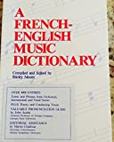 A French-English Music Dictionary 9780961533700