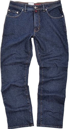 "Pierre Cardin Herren Stretch Jeans DIJON ""3231 161/02"" Blue Black Comfort Fit"