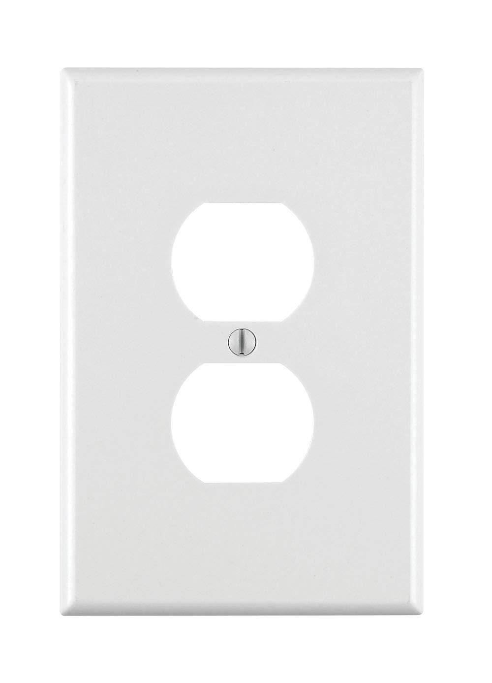 プラスチック製 オーバーサイズ コンセント ウォールプレート 100 Pack 88103 B01D8PBX0Y Pack Pack|ホワイト 10 100 Pack|ホワイト ホワイト 10 Pack, 本家屋:24d5bdac --- gamenavi.club