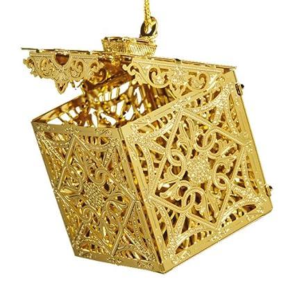 baldwin hinged ring box 3 inch ornament - Christmas Ornament Ring Box