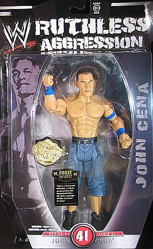 WWE Wrestling Ruthless Aggression Series 41 Action Figure John Cena