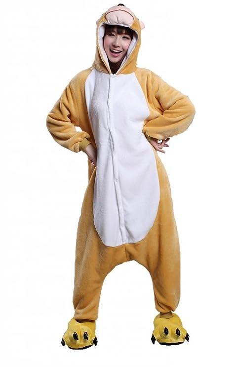 nuova collezione 97233 46a03 Anim-Unisex Kigurumi pigiami per adulti Costume Animale ...