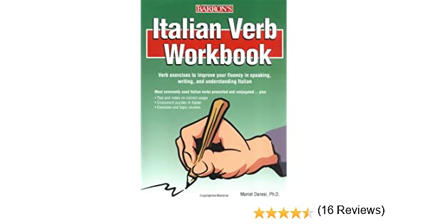 Amazon.com: Italian Verb Workbook (9780764130243): Marcel Danesi ...