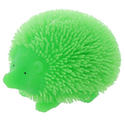 Fun Kids Light Up Squidgy Hedgehog Puff Pet