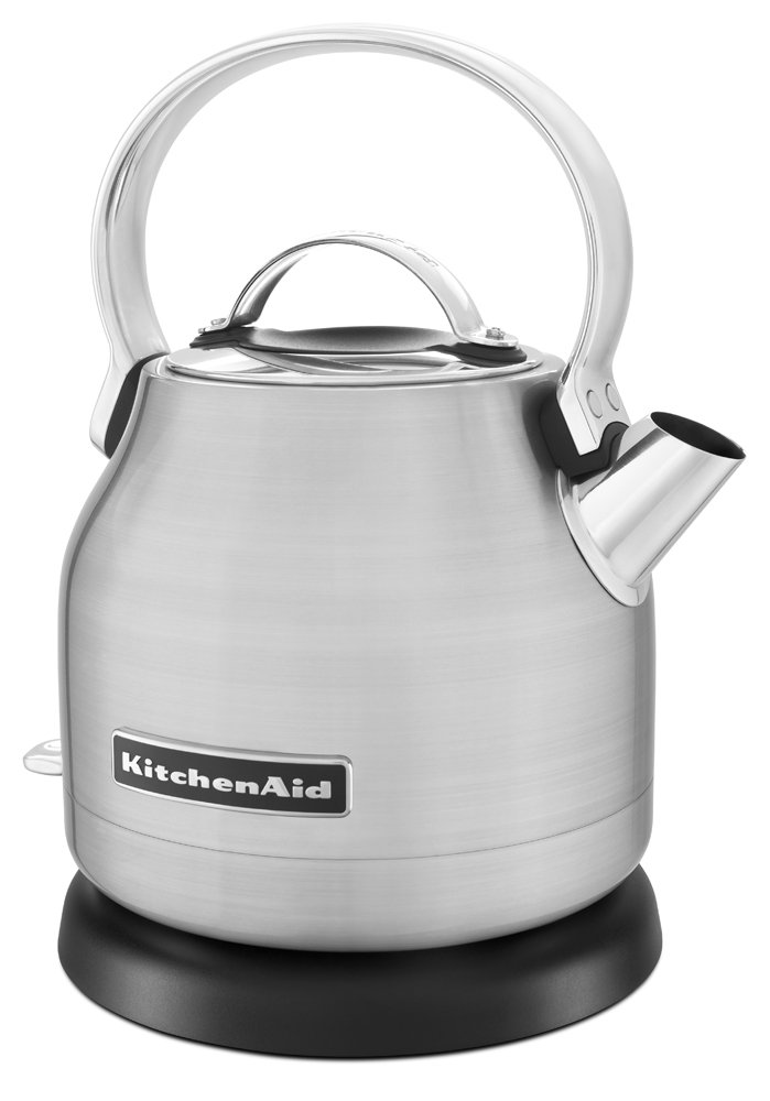 KitchenAid KEK1222SX 1.25-Liter Electric Kettle - Brushed Stainless Steel by KitchenAid